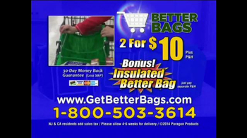 Better Bags TV Spot, 'The Bag of the Future: 2 for $10' - Thumbnail 8