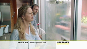 Karcher WV PowerSqueegee TV Spot - 53 commercial airings