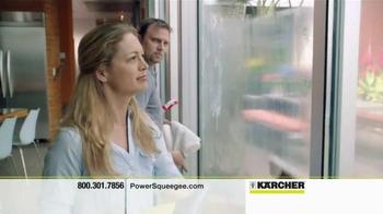Karcher WV PowerSqueegee TV Spot