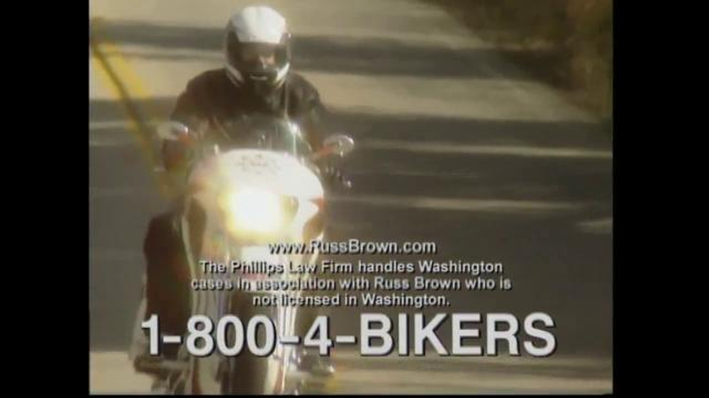 Russ Brown Motorcycle Attorneys TV Commercial, 'Motorcycle ...