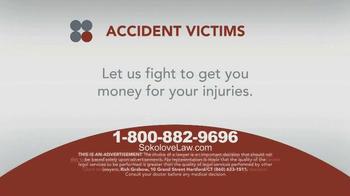 Sokolove Law TV Spot, 'Accident Victims'