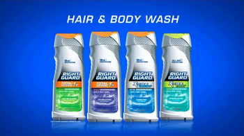 Right Guard Hair & Body Wash TV Spot - Thumbnail 1
