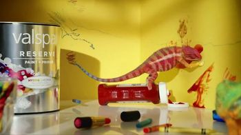 Valspar Reserve TV Spot, 'Mess Proof Paint'