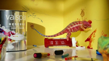Valspar Reserve TV Spot, 'Mess Proof Paint' - 3574 commercial airings