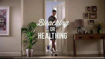 Lysol Toilet Bowl Cleaner TV Spot, 'Bleaching or Healthing: In the House'