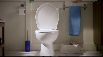 Lysol Toilet Bowl Cleaner TV Spot, 'Bleaching or Healthing: In the House' - Thumbnail 3