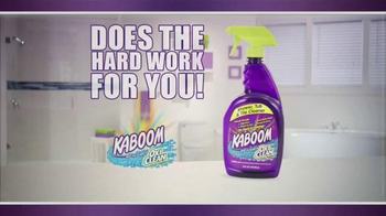 Kaboom OxiClean TV Spot, 'Bathroom Cleaner' - 6402 commercial airings