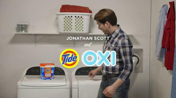 Tide-Oxi TV Spot, 'Now You Can Tide That' Featuring Jonathan Scott - 1738 commercial airings