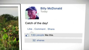 ION Camera TV Spot, 'Fishing' Featuring Professional Angler Bill McDonald - Thumbnail 8