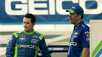 GEICO TV Spot, 'Lazy Crew' Featuring Casey Mears - Thumbnail 6