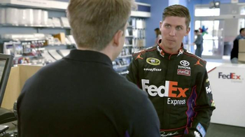 FedEx Express TV Spot, 'Nickname' Featuring Denny Hamlin - Thumbnail 2