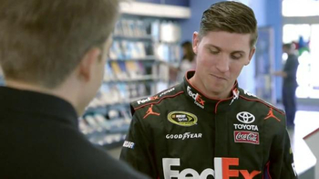 FedEx Express TV Spot, 'Nickname' Featuring Denny Hamlin