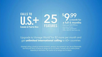 Vonage TV Spot, 'Long Distance Service' - Thumbnail 6