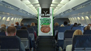 Jack Link's Turkey Jerky TV Spot, 'Hangry Moments: Middle Seat' - Thumbnail 1