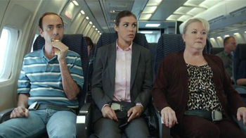Jack Link's Turkey Jerky TV Spot, 'Hangry Moments: Middle Seat'