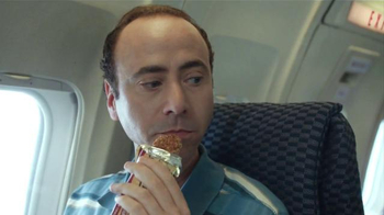 Jack Link's Turkey Jerky TV Spot, 'Hangry Moments: Middle Seat' - Thumbnail 4
