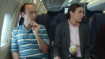 Jack Link's Turkey Jerky TV Spot, 'Hangry Moments: Middle Seat' - Thumbnail 5