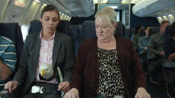 Jack Link's Turkey Jerky TV Spot, 'Hangry Moments: Middle Seat' - Thumbnail 7