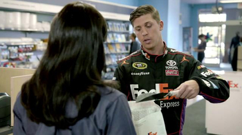 FedEx Express TV Spot, 'Eat My Dust' Featuring Denny Hamlin