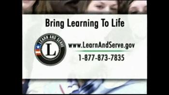 LearnAndServe.gov TV Spot, 'Working Together' - Thumbnail 10