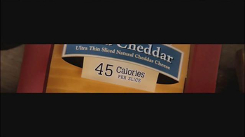 Sargento Ultra Thin TV Spot, '45 Calories' - Thumbnail 7