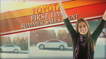 Toyota First Time Sales Event TV Spot, Song by Foreigner - Thumbnail 3