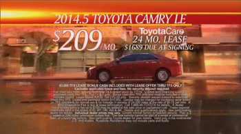 Toyota First Time Sales Event TV Spot, Song by Foreigner - Thumbnail 7