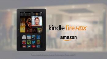 Amazon Kindle Fire HDX TV Spot, 'Dinner Party' - Thumbnail 10