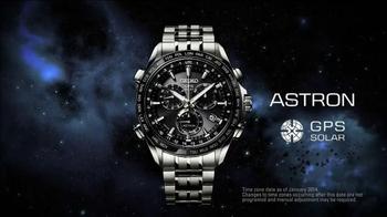2014 Seiko Astron TV Spot, 'GPS Synchronization' - Thumbnail 10