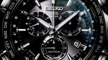 2014 Seiko Astron TV Spot, 'GPS Synchronization' - Thumbnail 5