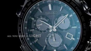 2014 Seiko Astron TV Spot, 'GPS Synchronization' - Thumbnail 6