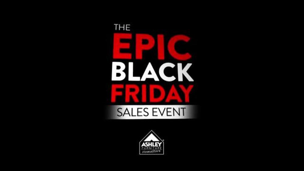Ashley Furniture Homestore Epic Black Friday Sales Event Tv Spot