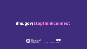 Department of Homeland Security TV Spot, 'Stop. Think. Connect.: Post' - Thumbnail 10