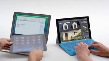 Microsoft Surface Pro 3 TV Spot, 'Crowded' [Spanish] - Thumbnail 5
