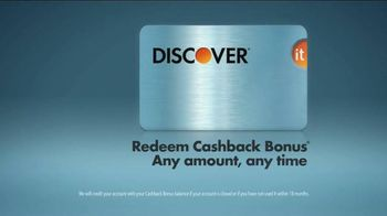 Discover Card Cashback Bonus TV Spot, 'Office Holiday Party' - Thumbnail 10