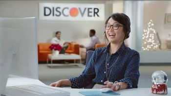 Discover Card Cashback Bonus TV Spot, 'Office Holiday Party' - Thumbnail 9