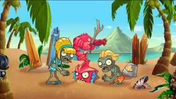 Plants vs. Zombies 2: It's About Time TV Spot, 'Day at the Beach'