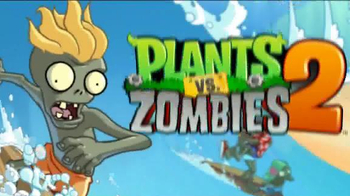 Plants vs. Zombies 2: It's About Time TV Spot, 'Day at the Beach' - Thumbnail 1