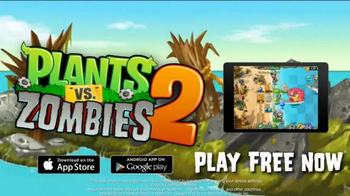 Plants vs. Zombies 2: It's About Time TV Spot, 'Day at the Beach' - Thumbnail 10