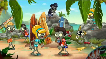 Plants vs. Zombies 2: It's About Time TV Spot, 'Day at the Beach' - Thumbnail 2