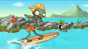 Plants vs. Zombies 2: It's About Time TV Spot, 'Day at the Beach' - Thumbnail 3