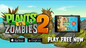 Plants vs. Zombies 2: It's About Time TV Spot, 'Day at the Beach' - Thumbnail 9
