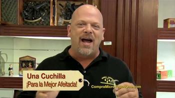 One Razor by MicroTouch TV Spot, 'Su Novio' Con Rick Harrison [Spanish] - Thumbnail 4