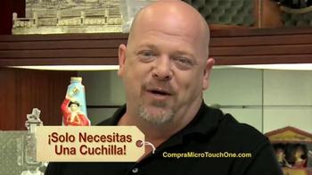 One Razor by MicroTouch TV Spot, 'Su Novio' Con Rick Harrison [Spanish] - Thumbnail 6