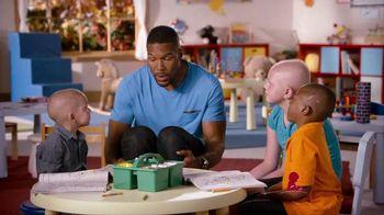 St. Jude Children's Research Hospital TV Spot, 'Giving' Ft. Michael Strahan - 183 commercial airings