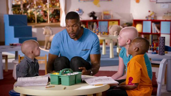 St. Jude Children's Research Hospital TV Spot, 'Giving' Ft. Michael Strahan - 183 commercial airings