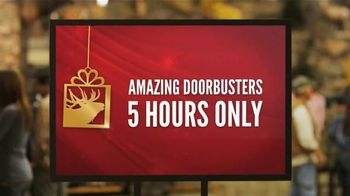 Cabela's Black Friday Doorbuster Sale TV Spot, 'Rise and Shine' - Thumbnail 5