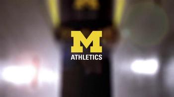 Michigan Athletics TV Spot, 'Importance' - Thumbnail 10