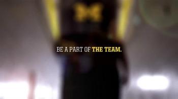 Michigan Athletics TV Spot, 'Importance' - Thumbnail 9