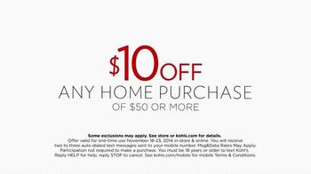 Kohl's 50% Off Sale TV Spot, 'Perfect Thanksgiving' - Thumbnail 4